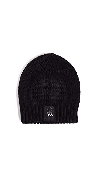 cf6bcf82c509d adidas Y-3 Men s Knit Beanie Hat  Amazon.ca  Clothing   Accessories