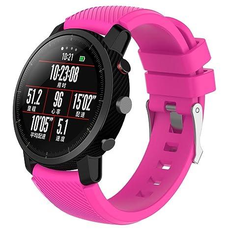 Correa de repuesto para reloj inteligente Huawei AMAZFIT Stratos 2, de Y56; ligera,