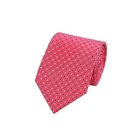 Yyzhx Hombres de nudo de corbata de encargo pequeño punto corbata ...