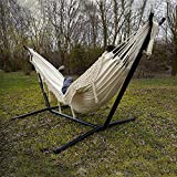 Vivere Double Hammock with Space Saving Steel