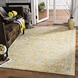 Cheap Safavieh Evoke Collection EVK242S Vintage Ivory Gold Area Rug (6'7″ x 9′)