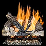 Alpine Flame 18 Inch Rustic Canyon Oak Gas Logs (logs Only – Burner Not Included) For Sale