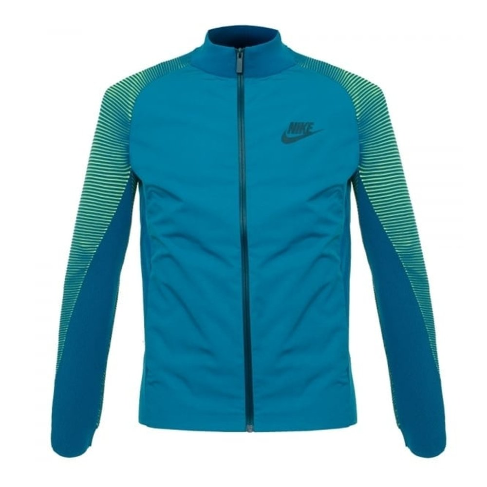 Nike Men's Dynamic Reveal Green Turquoise Jacket 828476 301 Smal by NIKE