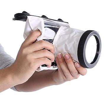 Bewinner Bolsa Sumergible Sumergible de 20M para cámaras DSLR ...
