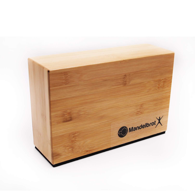 Amazon.com: Mandelbrot X Bloques de soporte de bambú con ...
