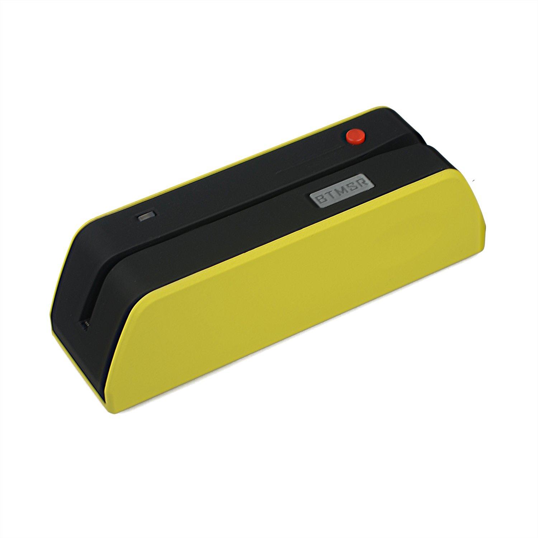 Bluetooth Magnetic Swipe Card Reader Writer, Posunitech Smallest BTMSR Encoder MSRE206 605 606