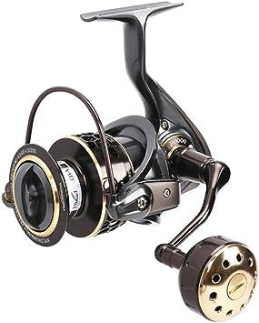 CDKZK Jaguar 3000 4000 5000 Carrete de Pesca Spinning Carp Squid ...