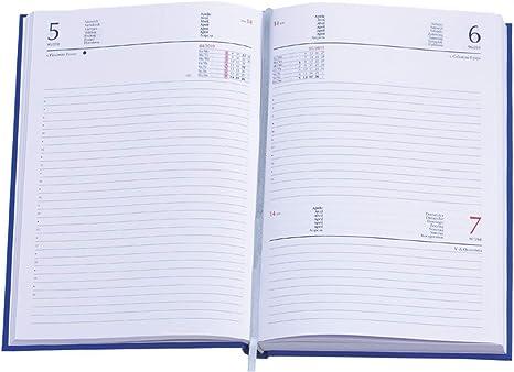 Agenda 2020 settimanale 8x15 cm in matra tascabile agendina 2 pagina a settimana Blu