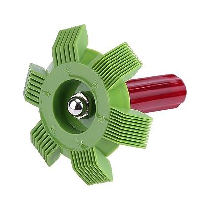 Fdit Rejilla para Radiador Peine de Aletas para Coche Refrigeración Aire Acondicionado Condensador Enfriamiento Cepillo Aleta