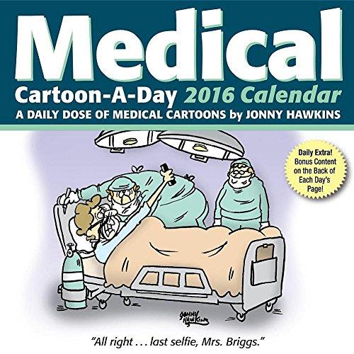 Medical Cartoon-a-Day 2016 Day-to-Day Calendar