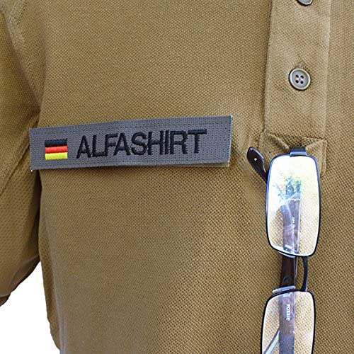 Tactical Poloshirt Alfa FAMO Logo Vehicle Engines Works Breslau Companies