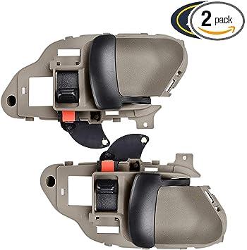 Amazon Com Faersi Inside Interior Door Handle Left Driver Right Passenger Side Replacement Fors 1995 1996 1997 1998 1999 2000 Silverado Tahoe K1500 K2500 K3500 Suburban Gmc Yukon Pickup Truck 15708043 15708044 Automotive