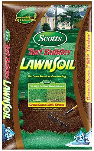 Scotts Turf Builder Lawn Soil, 1. 0-Cubic Foot (1) - Soil Builder