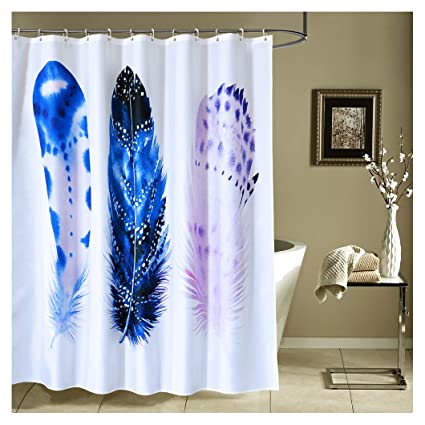Image Unavailable Not Available For Color Kingmily Fabric Shower Curtain