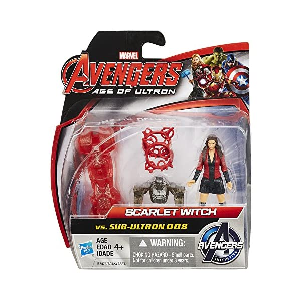 61t8u4 BfIL Marvel Avengers Age of Ultron Scarlet Witch vs. sub-Ultron 008