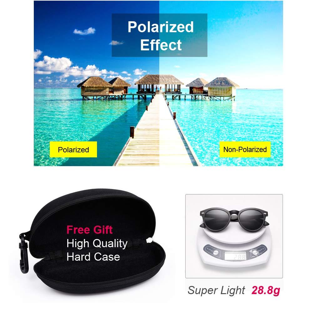 KUNER 2-in-1 Gafas de sol magn/éticas polarizadas Voltear hacia arriba Clip en /& Los anteojos Bajo techo en exteriores Protecci/ón UV TR90 Marco