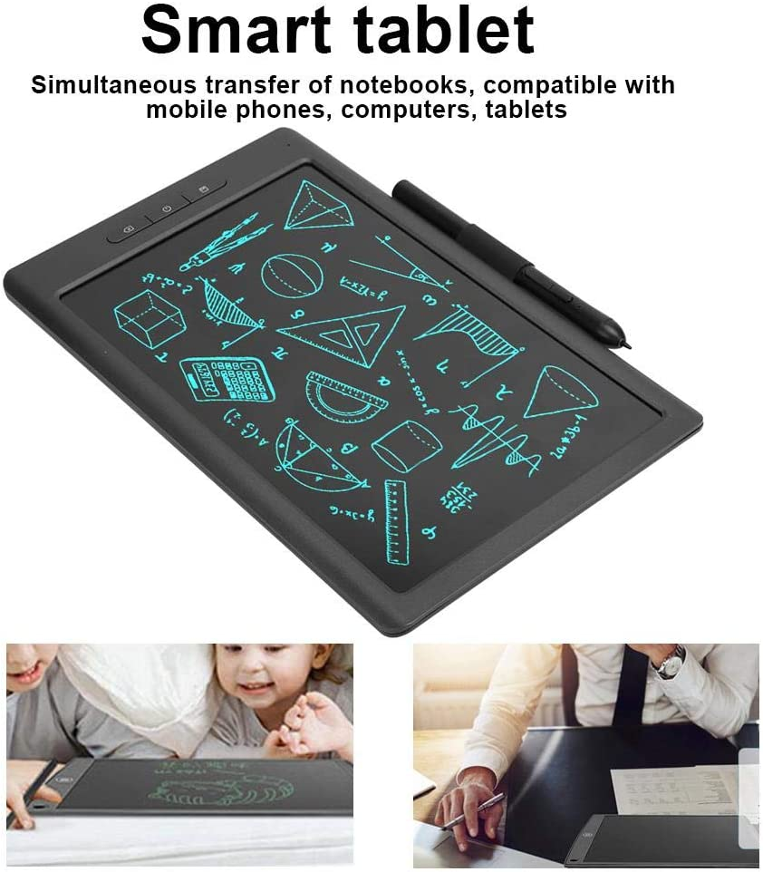 10 Inch LCD Writing Board Gift for Kids Families Writing Tablet Paperless for Writing Paint Memo Bluetooth Digital Drawing Tablet Graphics Tablet with Pen