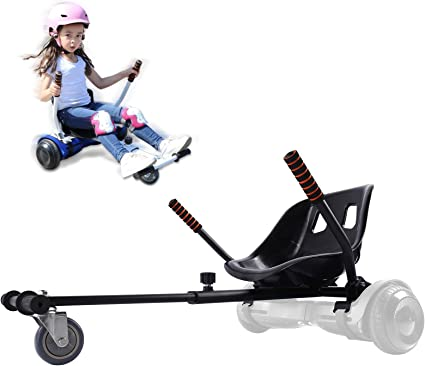 HoverKart Fits 6.5 8 /& 10 Inch Hoverboards Accessory Cart Fitting Kart Only