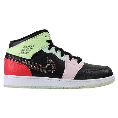 Nike Air Jordan 1 Mid SE GS, Zapatillas de Baloncesto para ...