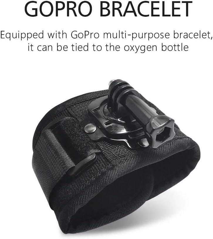 0.7L Mini Scuba Dive Cylinder Advanced Silicone Material for Increased Corrosion /& Pressure with 8-14 Minutes Underwater respirato lululeague SMACO Scuba Diving Tank Equipment