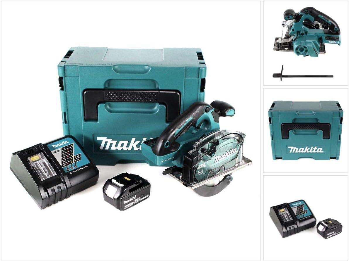 Makita DCS 553 RM1J - Sierra circular de mano (batería de ion de ...