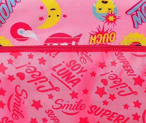 Disney Soy Luna Smile Borsa Messenger, 17 cm, 1.02 liters, Multicolore (Multicolor)