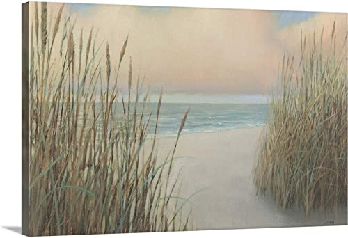 Beach Trail I Canvas Wall Art Print