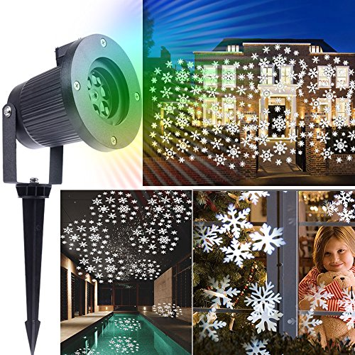 Outdoor Led Snowflake Christmas Lights - 9