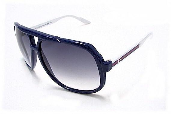 Gafas de Sol Gucci GG 1622/S BLUE WHTE: Amazon.es: Ropa y ...