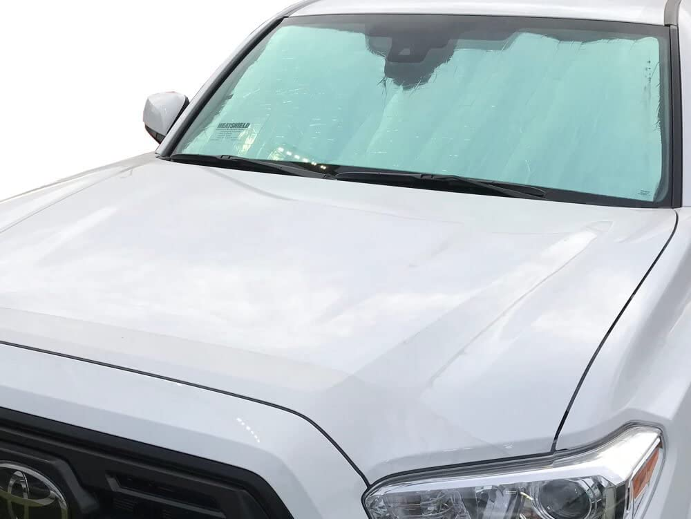 Custom-fit Windshield Sun Shade AutoTech Zone Sun Shade for 2005-2015 Toyota Tacoma 2 Door Pick up Truck