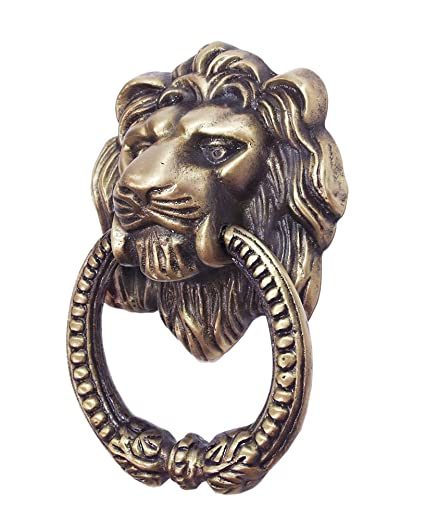 Professional Brass Hardware, Brass Lion Head Door Knocker, Brass Lion Head  Pull, D13 - Professional Brass Hardware, Brass Lion Head Door Knocker, Brass