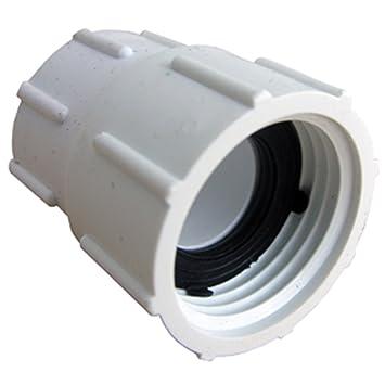 lasco pvc swivel hose adapter with 34inch female hose