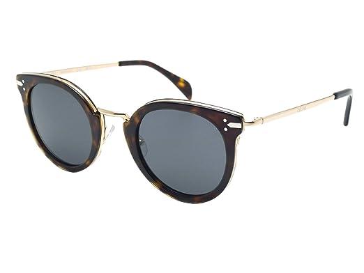 5a85d8af2b30 Celine 41373 S ANT Dark Havana 41373 S Round Sunglasses Lens ...