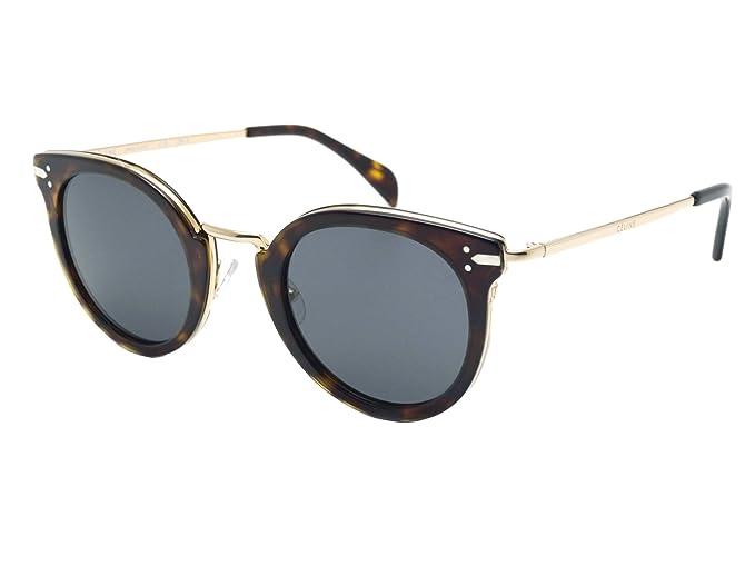 Celine ANT 48IR, Gafas de Sol para Mujer, Dark Havana Gold ...