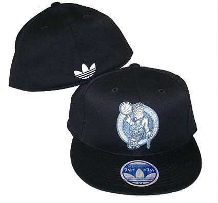 858e31d8d0688 Amazon.com : Boston Celtics Adidas Flex Fit Hat Size 7 1/4 - 7 5/8 ...