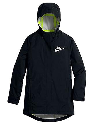 6afbb813c236 Nike Kids Sportswear Jacket Little Kid Big Kid Black Black Volt Reflective
