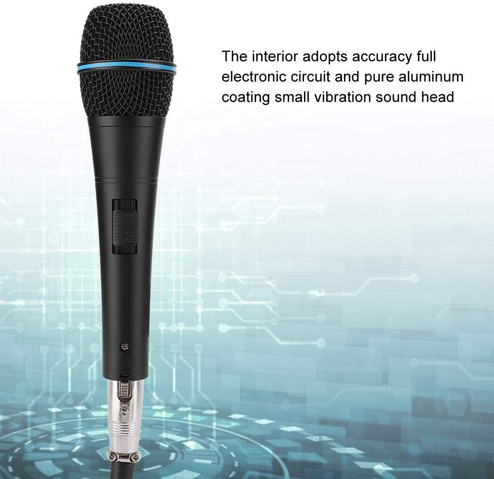 per spettacoli musicali in cotone resistente alla bolla Microfono a mano dinamico