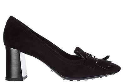 Escarpins chaussures femme 'talon en daim Tod's PmVt1Qegf