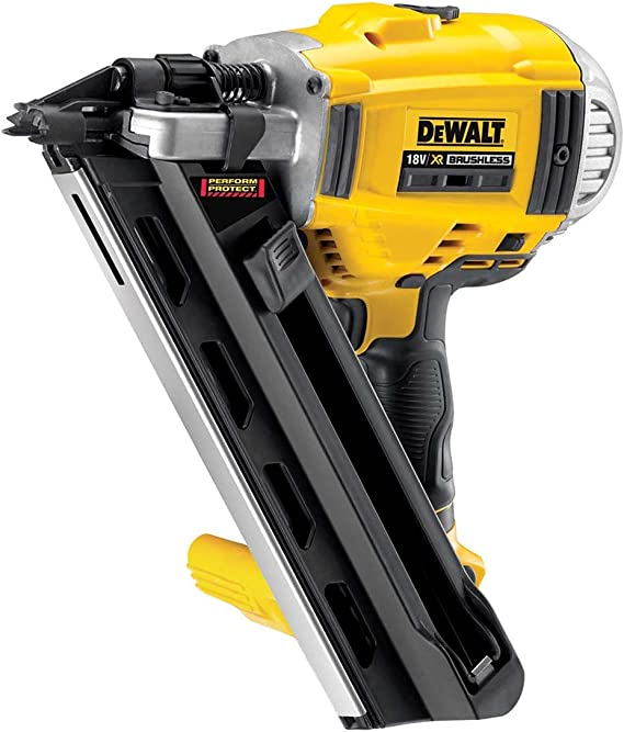Dewalt Dcn692n Xj 18v Xr Cordless Li Ion Brushless Framing Nailer 90mm Bare Unit