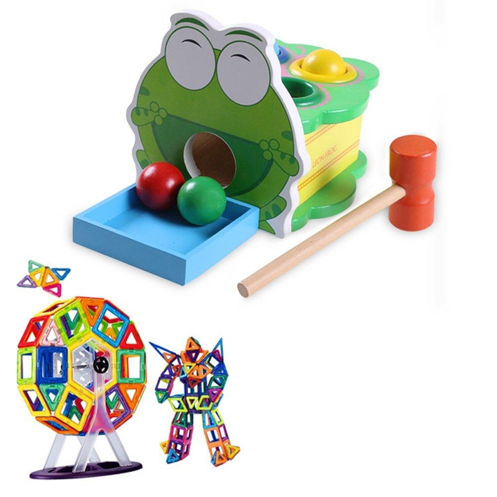 Unbekannt Xiaomei Intellektuelles Spielzeug Frühe Bildung Spielzeug Holz für Kinder 1-6 Jahre alt Junge und Mädchen Geschenke (Farbe   J) J