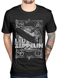 Led Zeppelin Logo /& Symbols T-Shirt schwarz XL