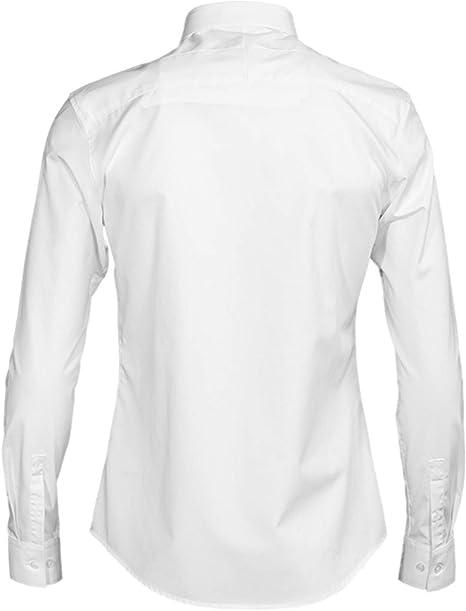 HOSD Camisa de Hombre con decoración de Cuentas Hechas a Mano ...