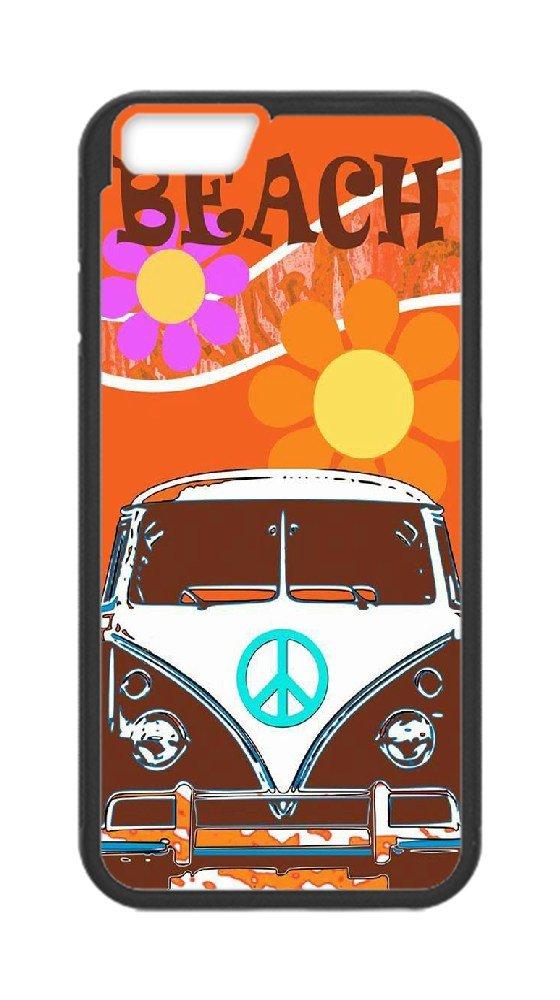 release date: f7475 2cda9 Custom iPhone 6/6S Plus Case,Beach VW bus Hard Plastic Hard Case for iPhone  6/6S Plus