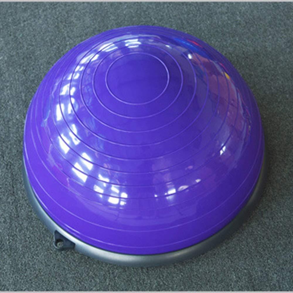 優れた品質 ヨガバランストレーナー58センチバランストレーナーボールフィットネス強度エクササイズバランスボールとリフティングロープとポンプ B07R7SPS75 B07R7SPS75 Purple Purple Purple Purple, 瓜連町:fddfcebb --- arianechie.dominiotemporario.com