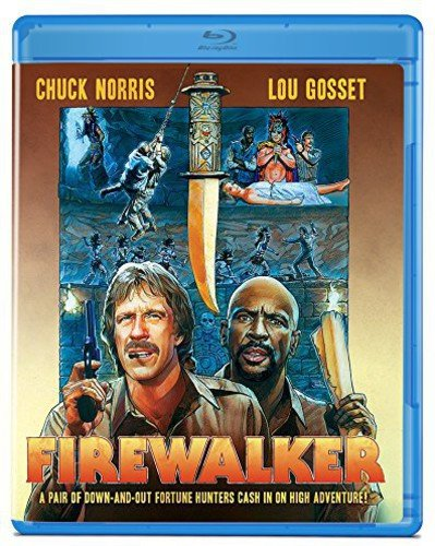 Blu-ray : Firewalker (Dolby)