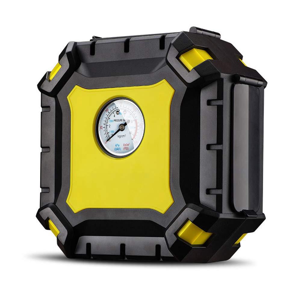 Modenny Compresor de Aire portátil del Coche Bomba compresor de Aire del Coche de 100 PSI para Las Motocicletas del Coche Inflador de neumático Digital de ...