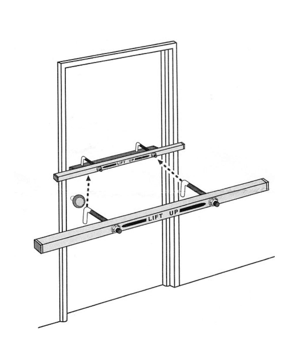 Exit Security SB-010042 Single Outswing Door Bar by Exit Security Inc