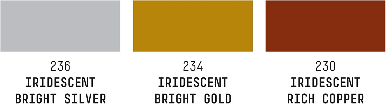 Liquitex Pintura acrílica, Color:, Iridiscentes, 3 x 30 mL