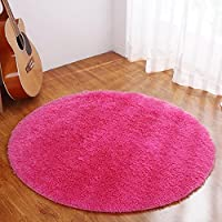 YJ.GWL Ultra Soft Round Area Rugs for Bedroom Anti-slip...
