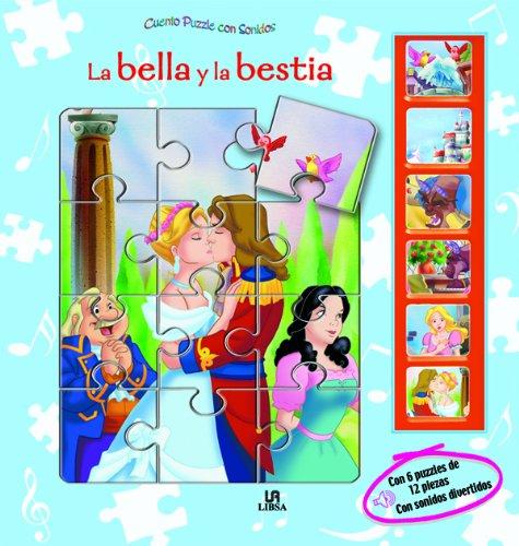 La Bella y la Bestia (Cuento Puzzle con Sonidos): Amazon.es ...